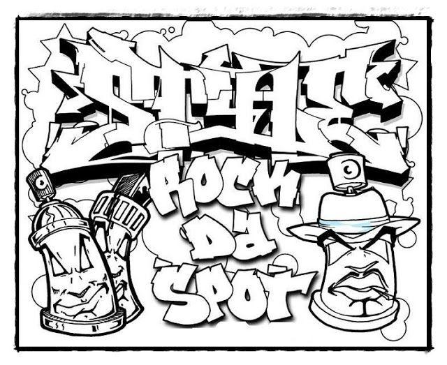 graffiti malvorlagen zum ausdrucken | coloring and malvorlagan