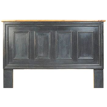 Master Headboard, Made With The Old Door From The Old House. :) French.  Panel HeadboardSalvaged WoodOld ...