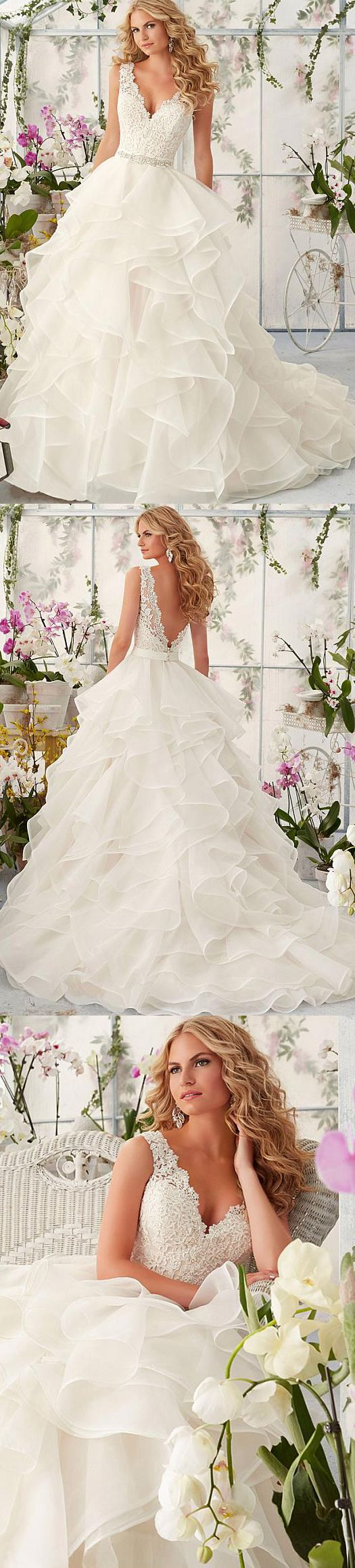 Elegant u romantic lace look wedding dresses gowns ideas that