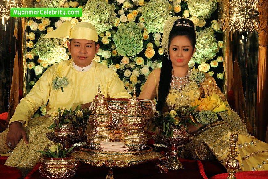 Wedding Ceremony Of Model Actress Mya Hnin Yee Lwin Mg Myo Thwin