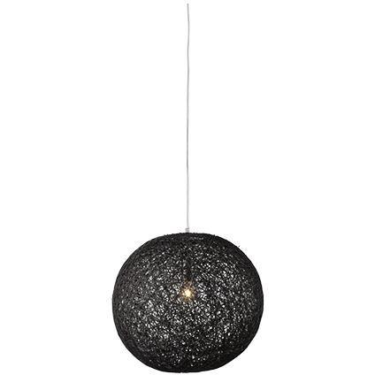 Besselink hanglamp Cocon rond zwart | Praxis
