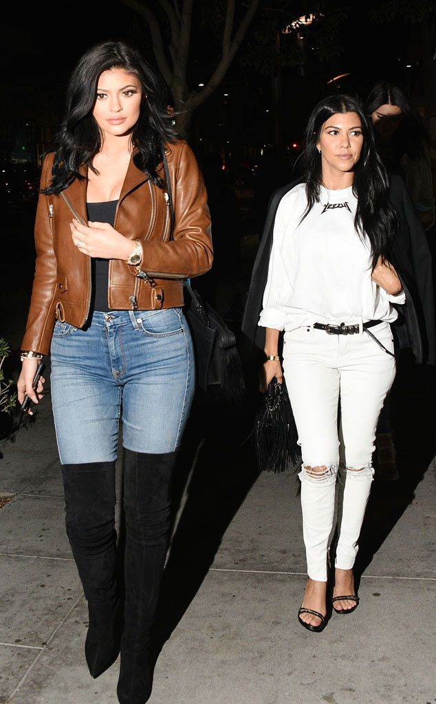 Kylie Jenner & Kourtney Kardashian from The Big Picture