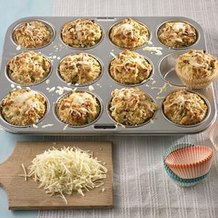 Käse-Lauch-Muffins Rezept