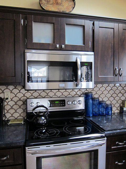 Chocolate And Vanilla Kitchen Remodel Marie Young Creative Best Kitchen Designs New Kitchen Designs Dark Kitchen Cabinets