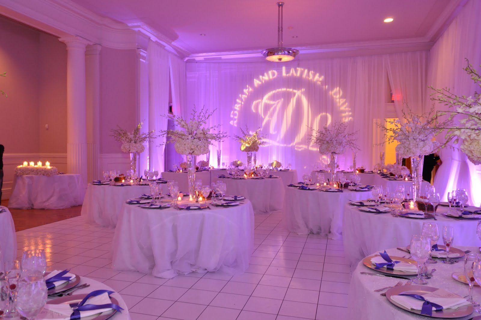custom wedding gobo pipe and drape | J.R. Wedding | Pinterest ...