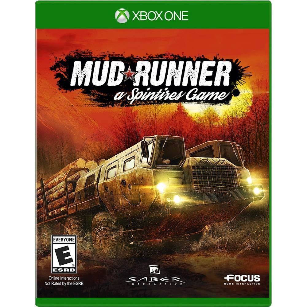 Mudrunner A Spintires Game Xbox One Mud Runner Xbox One