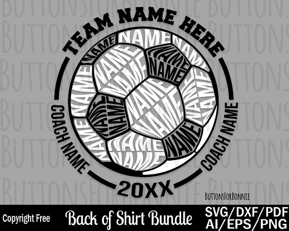 Soccer Svg Soccer Team Svg Soccer Ball Svg Sport Svg Etsy In 2020 Soccer Shirts Soccer Shirts Designs Soccer Team