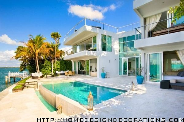 beach house | ... Beach Residence in Miami Design Decoration for Beach Home  Design