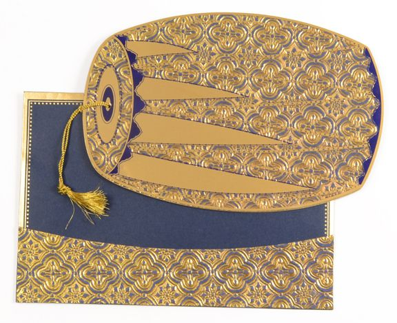 This Is Totally Different Card Perfect Dholak Shaped Invitation