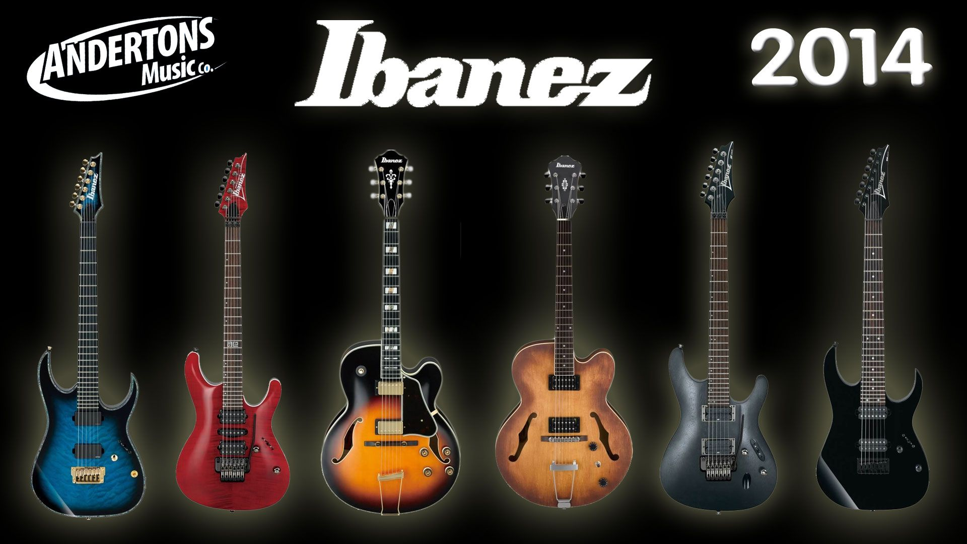 new 2014 ibanez electric guitars andertons blog guitarist