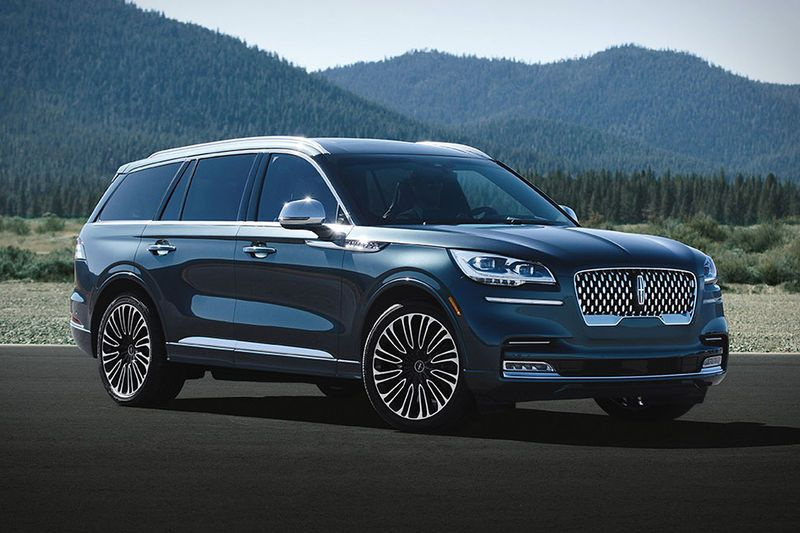 Well Appointed American Suvs With Images Lincoln Aviator