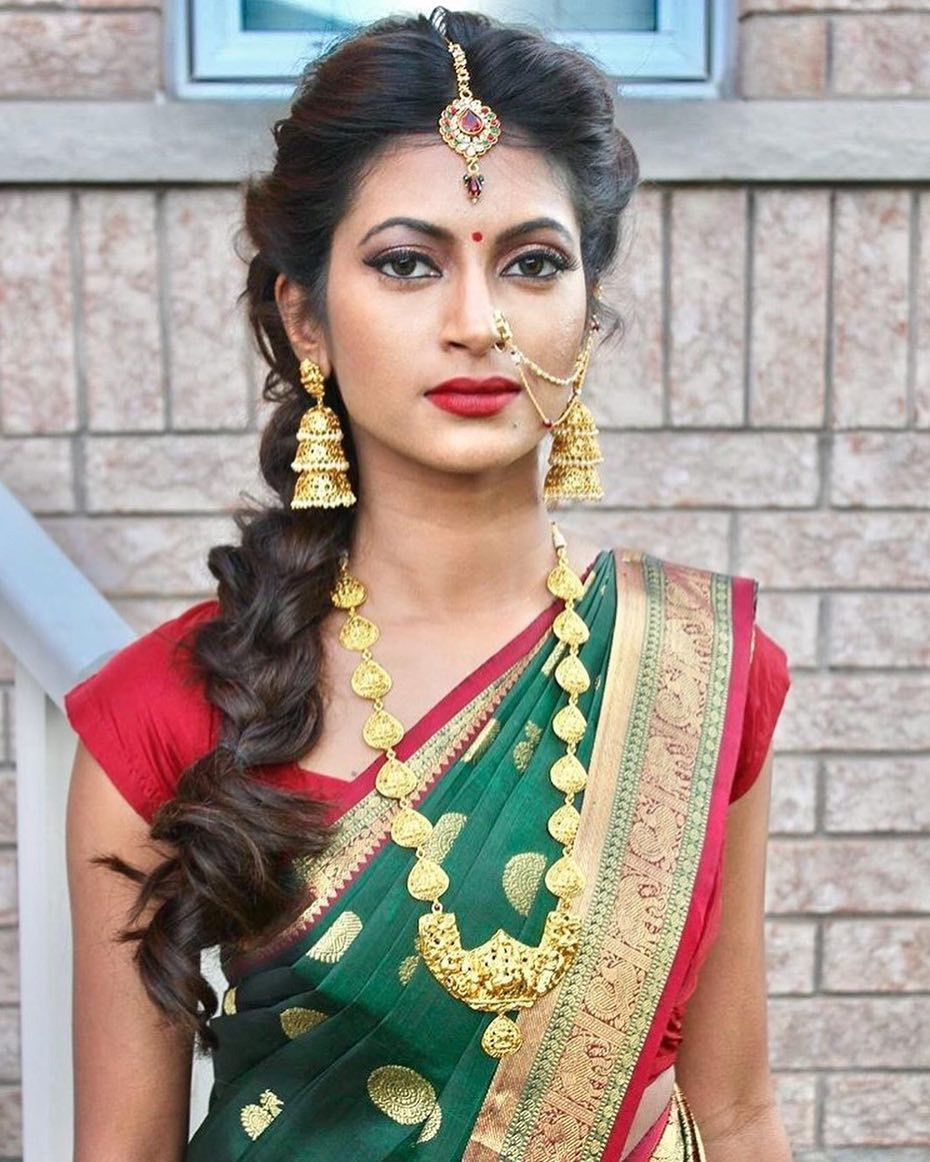 Simple Hairstyle In Tamil