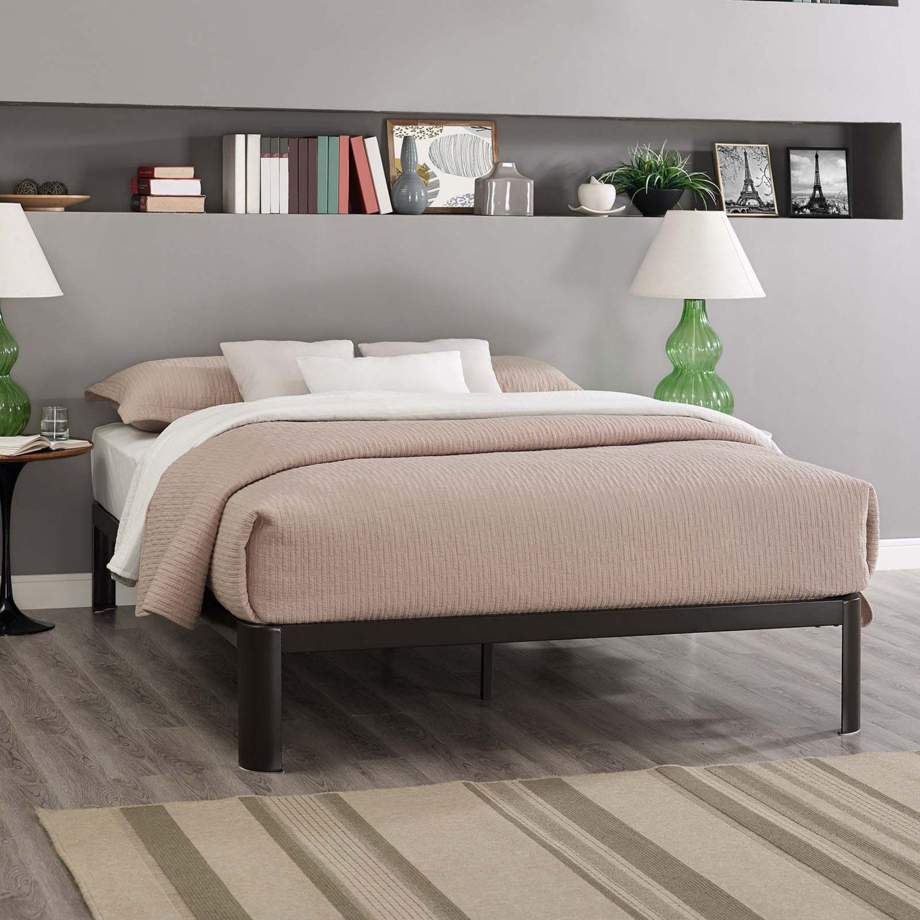 Modway Corinne Platform Bed Frame - MOD-5468-BRN | Products by ...