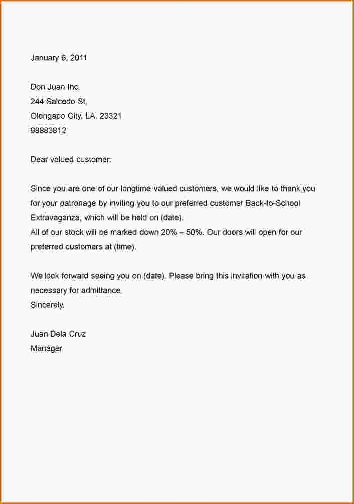 business letter format example the best sample professional - Sample Professional Letter Format Example