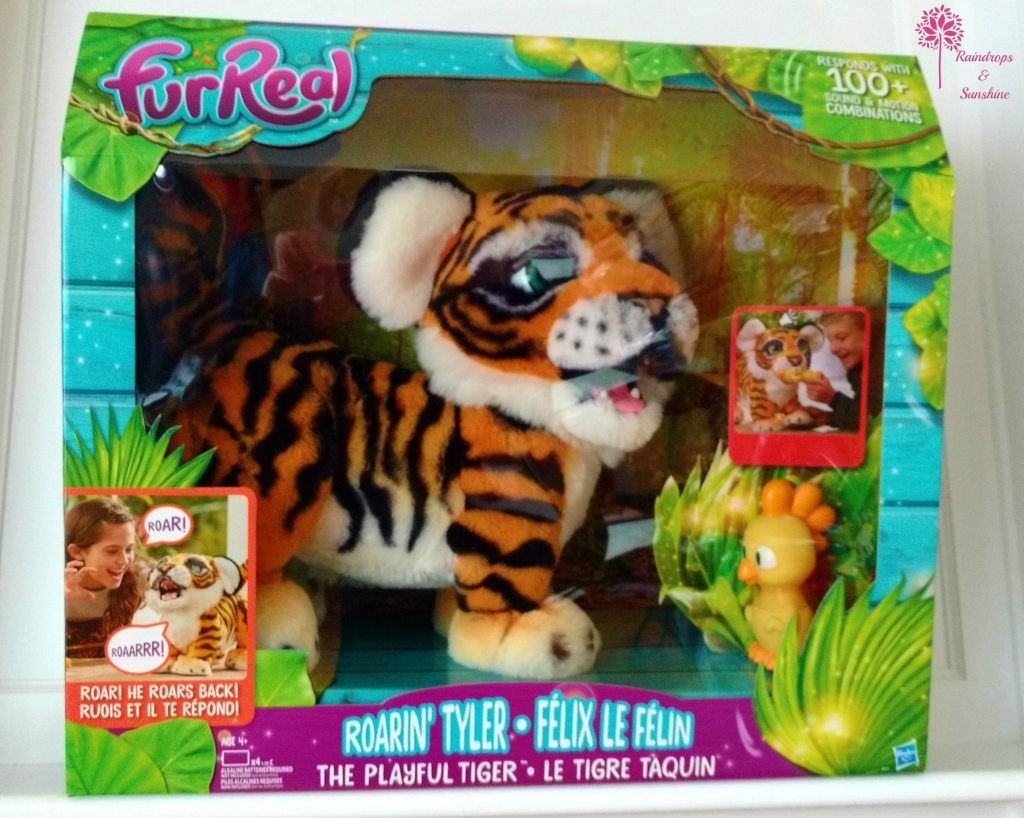 Furreal Roarin Tyler The Playful Tiger Fur Real Friends Tiger Hugs And Cuddles