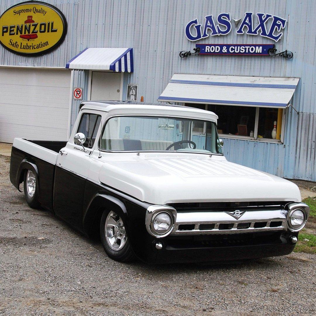 1957 Ford F100 Classic Trucks Ford Trucks Ford Pickup Trucks