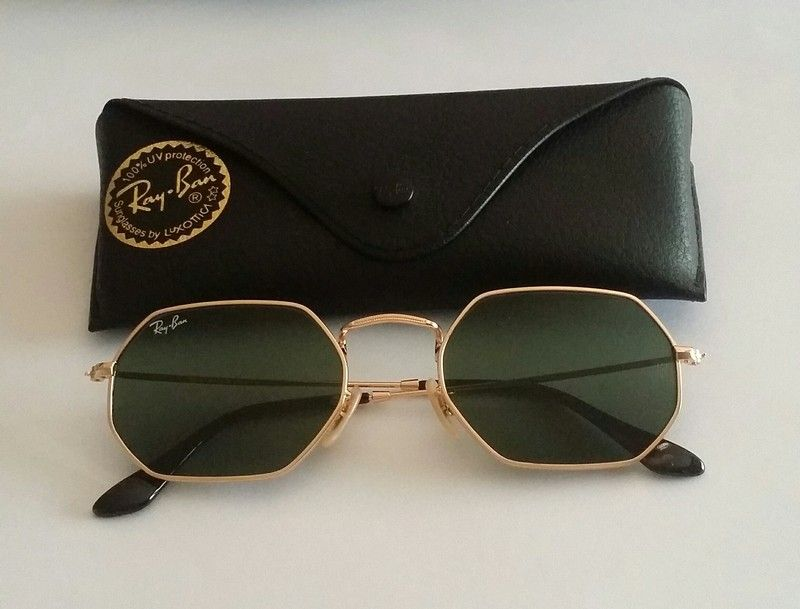 d832d1990465 Ray-ban Round Octagonal Flat Lens Sunglasses RB3556 001 - I am selling them  because I have too many sunglasses and don't wear them as much 😂.