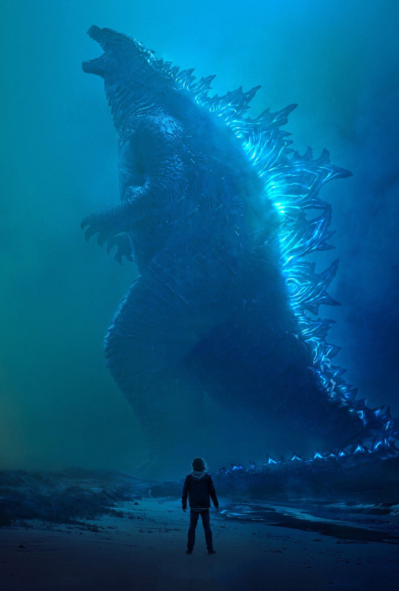 Official Godzilla King of the Monsters Poster Textless