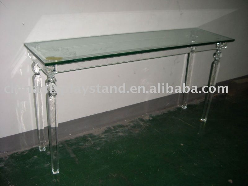 lucite console table buy lucite console console console table product on alibabacom