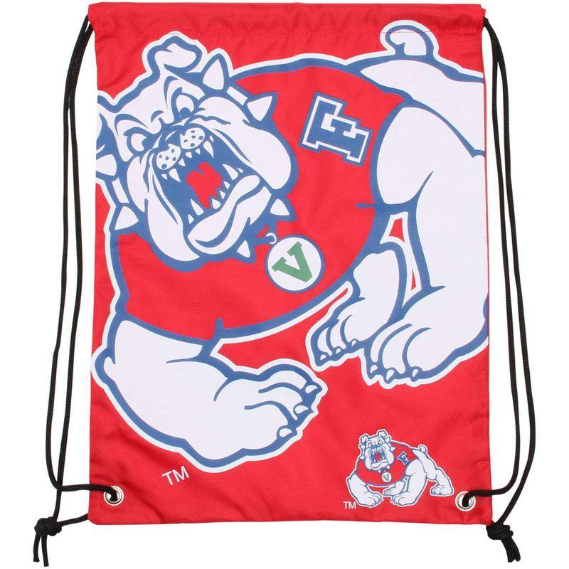 da05db8faec1b1 Fresno State Bulldogs Big Logo Drawstring Backpack - Cardinal ...