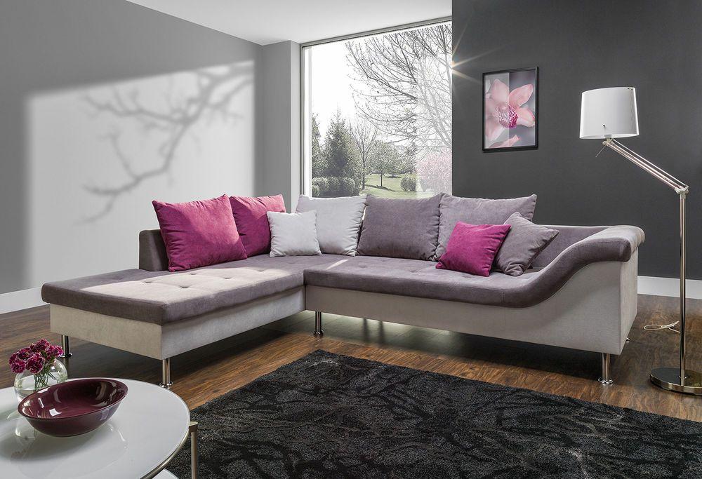 Couchgarnitur Couch Delta Mit Schlaffunktion Sofa Polsterecke