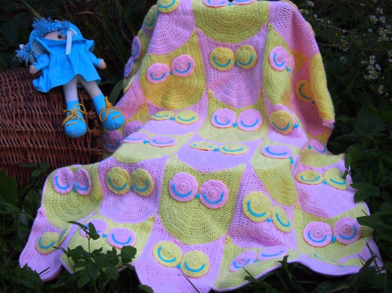 Crochet Baby Blanket pattern , Owl Blanket, Crochet owl pattern ...