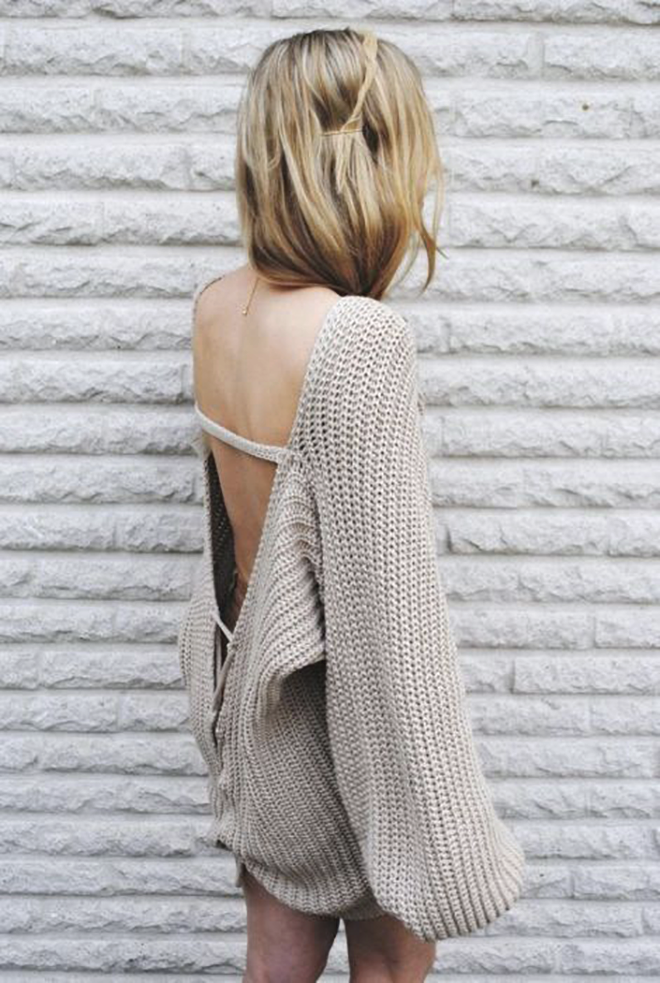 MI OBSESIÓN INVERNAL: SWEATER GRIS