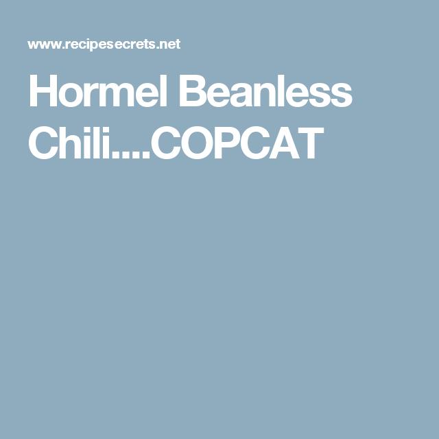 Keto Beanless Chili Recipe