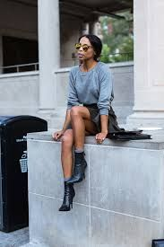 how to dress up a basic sweatshirt - Google Search