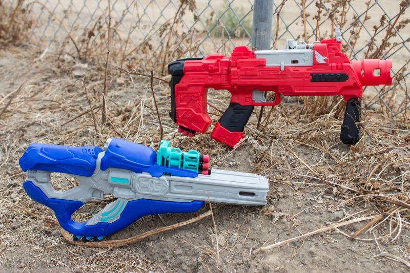 The blaster ...