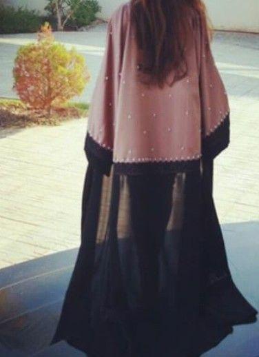 Pin By Shukria Bajalan On Abaya عباية Hijabista Fashion Abaya Fashion Elegant Abayas