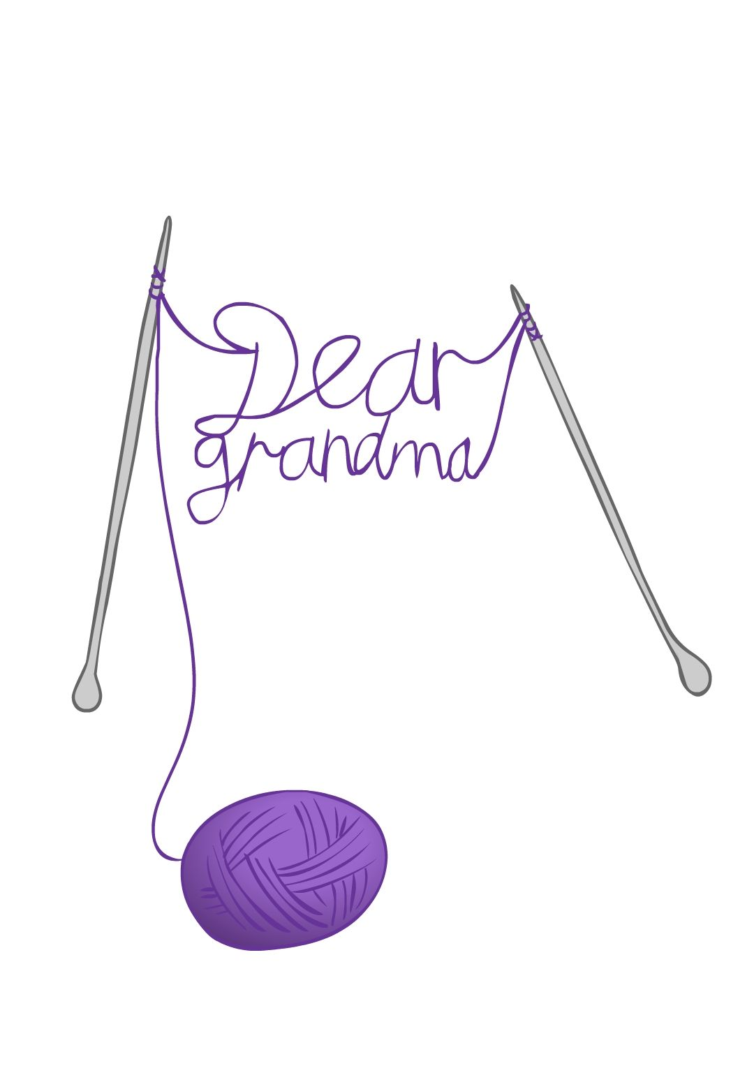 Free Printable Dear Grandma Greeting Card