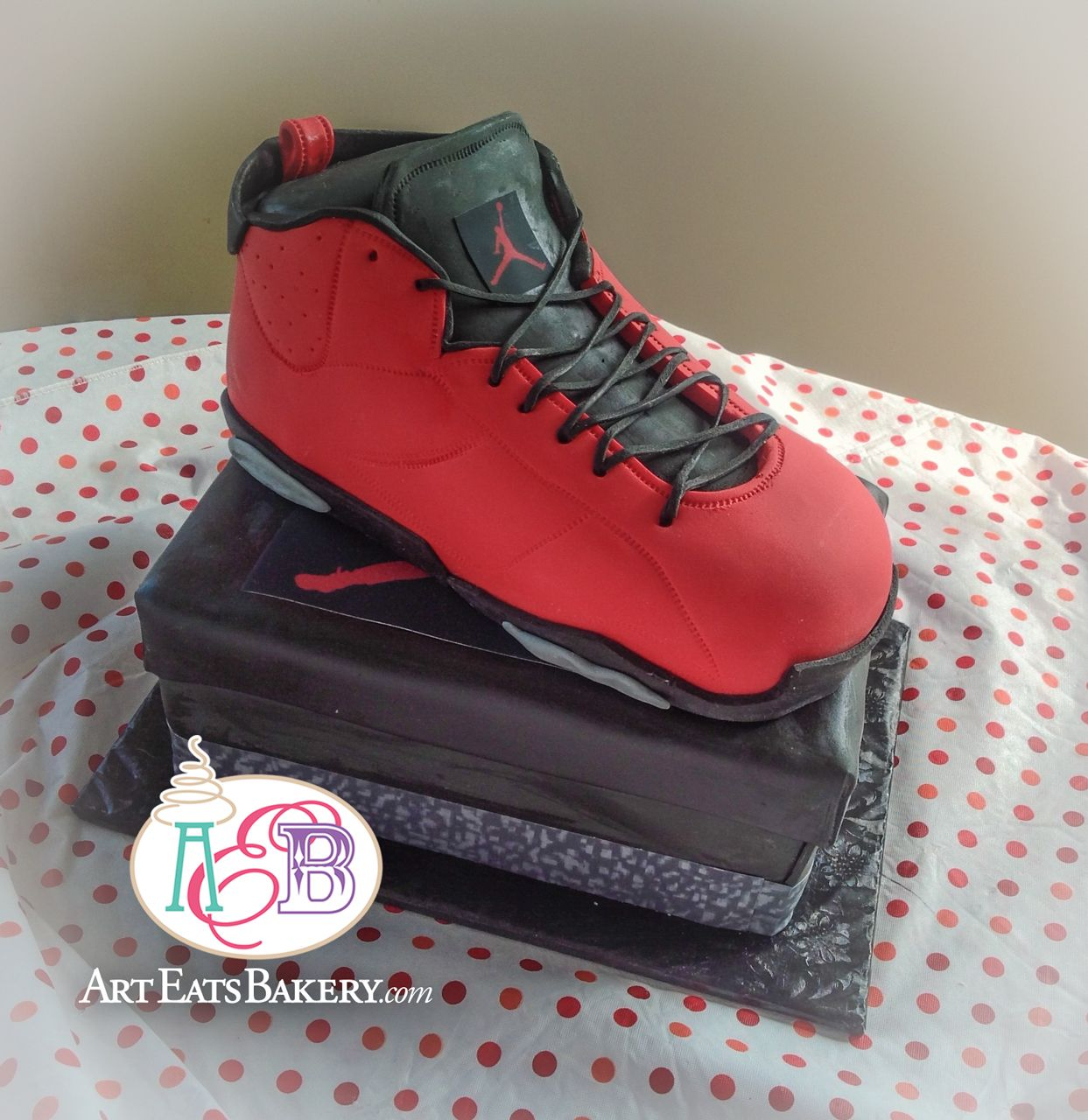 All Star Shoe Birthday Cake