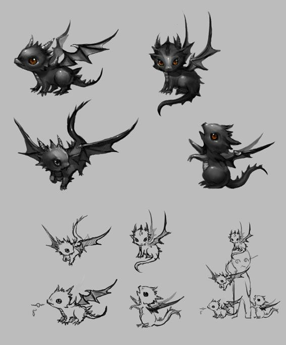 Smok the baby dragon baby dragon dragons and baby for Small dragon tattoos