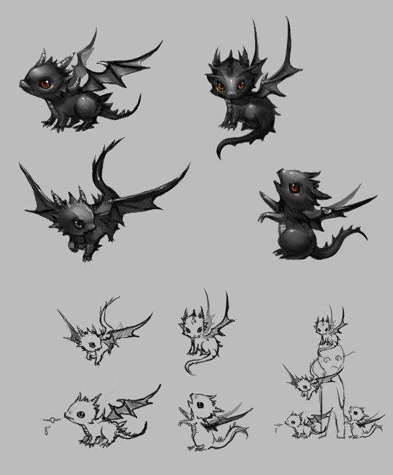Smok The Baby Dragon Small Dragon Tattoos Dragon Tattoo Designs Baby Dragon Tattoos