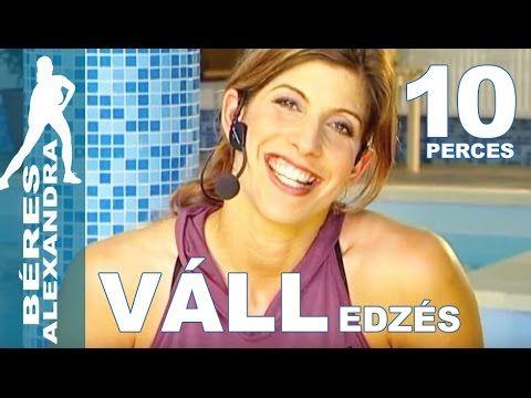 Béres Alexandra torna     Váll edzés     10 perc - YouTube