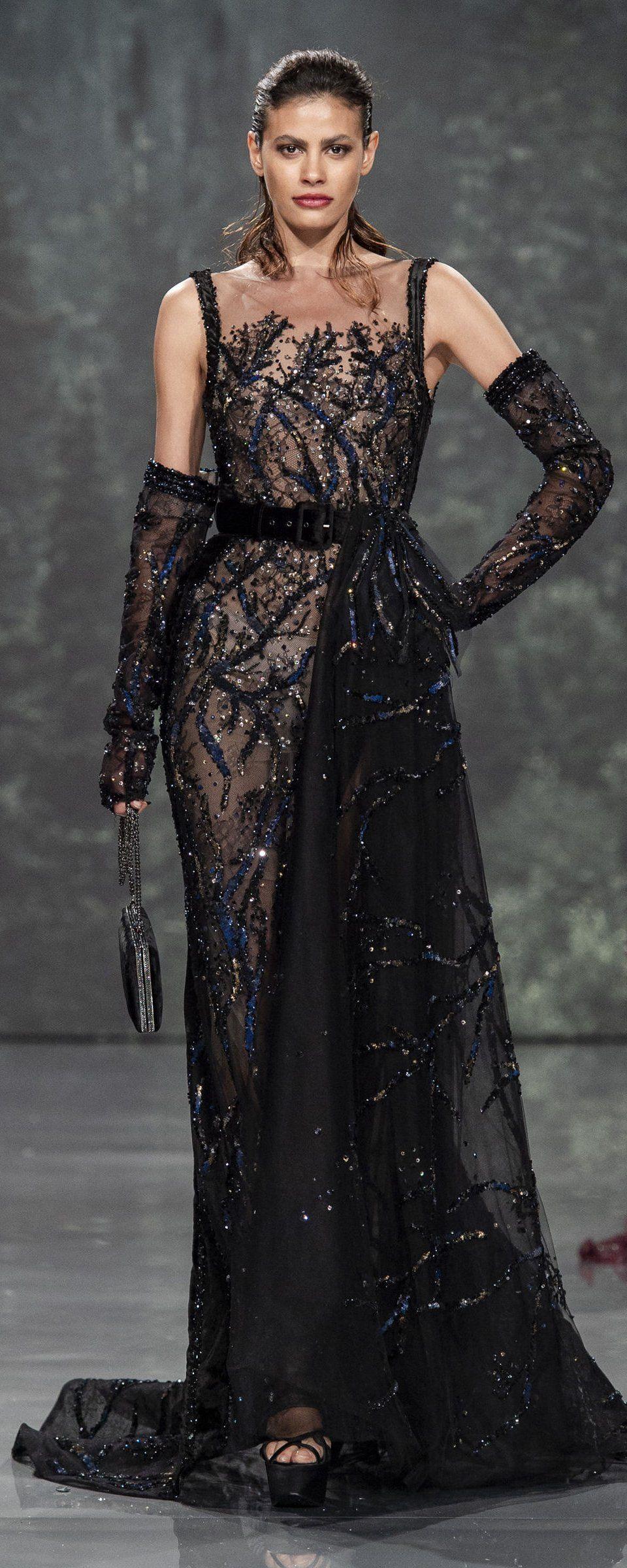 Ziad Nakad Fallwinter   Couture  Womenus fashion