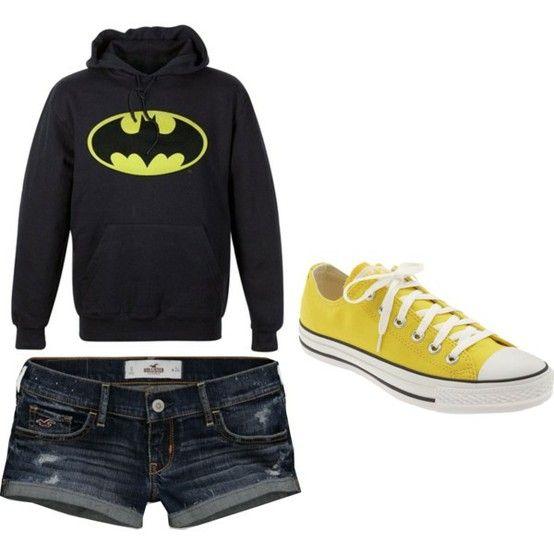 sweatshirts and shorts (: