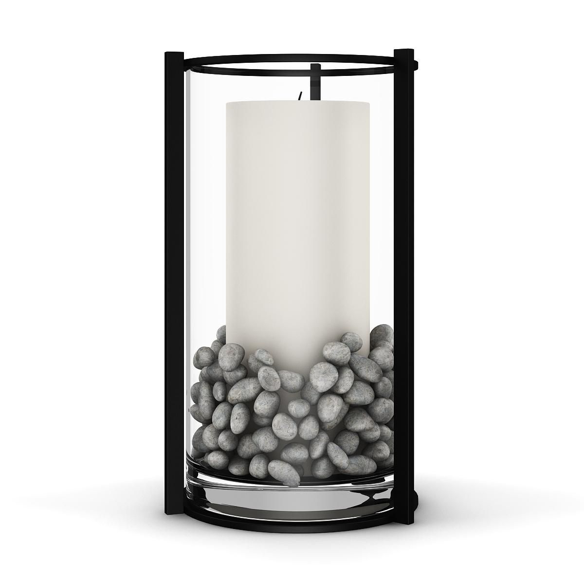 White Candle In Glass 3d Model Ad Candle White Model Glass White Candles Candles Glass