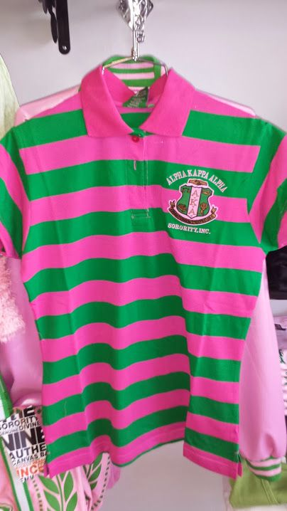 dabc2a2e9e AKA pink and green striped polo. Find this Pin and more on Alpha Kappa ...