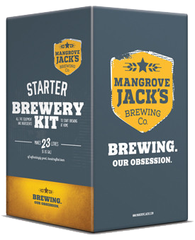 Mangrove Jacks Starter Kit Brewery, Home brewing, Beer