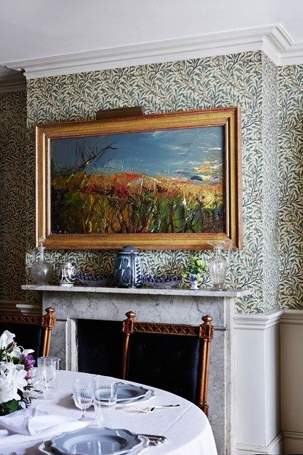 Willow Wallpaper  Dining Room Design Wallpaper And House Gorgeous Willow Dining Room Menu Decorating Design