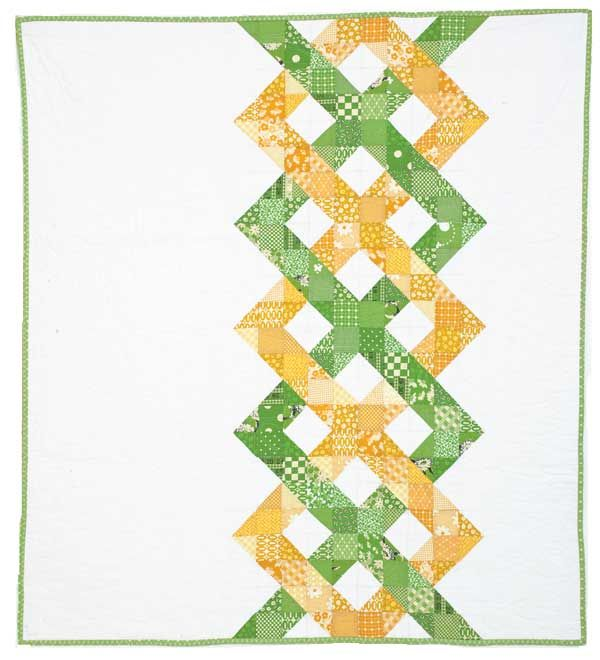 Helix fun with HST  --  <3 this!  wanna see it in blue or pink?? http://www.mccallsquilting.com/content_downloads/Baby_s_First_Christmas_WEB_BONUS.pdf
