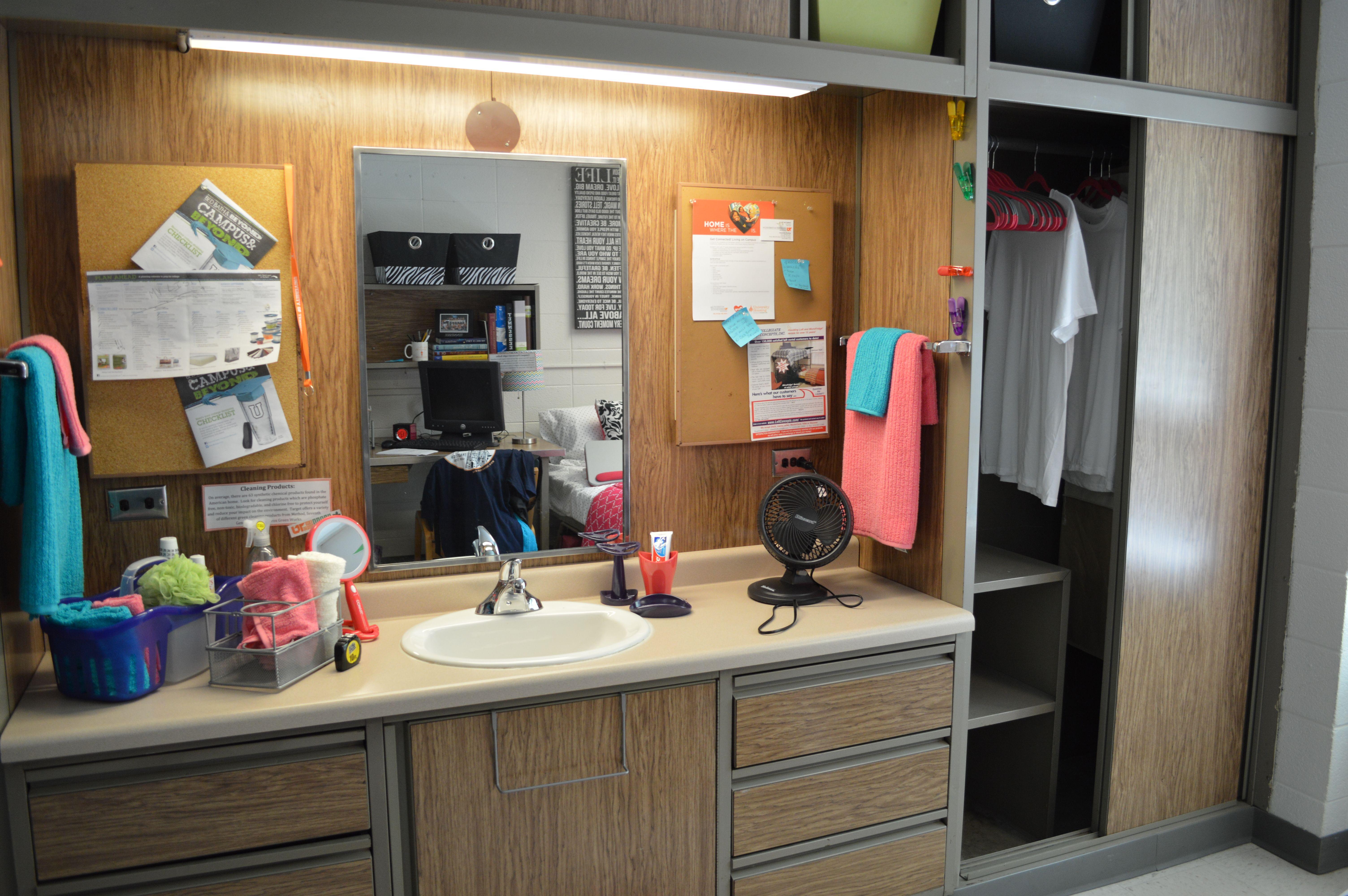 Reese Residence Hall Room Hall Room Dorm Inspiration Furniture