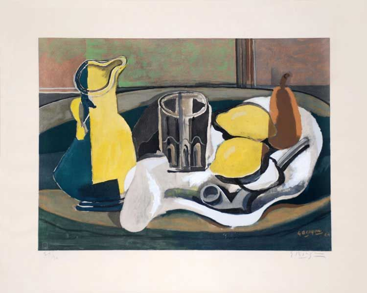 Original Art For Sale With Georges Braque Braque Nature Morte