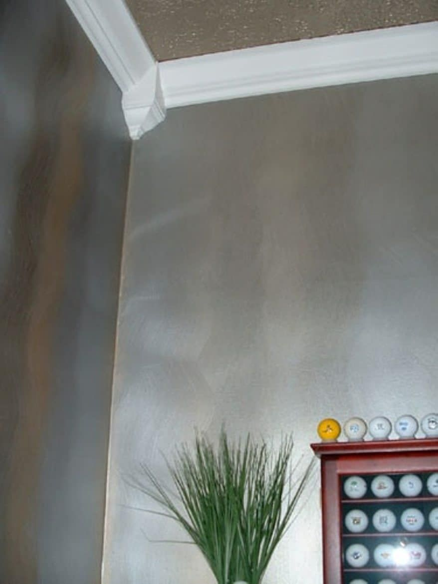 Interior Metallic Wall Colors Silver Paint Walls Metallic Paint Walls Interior Wall Paint