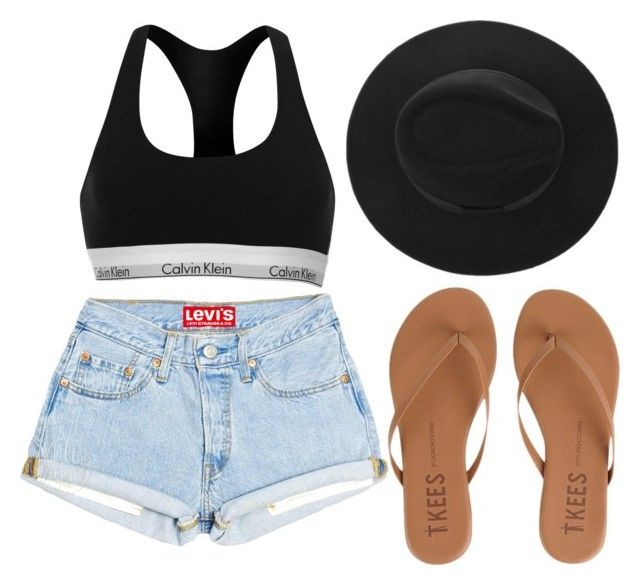 """""""show'em abs"""" by danifashionblog on Polyvore featuring Calvin Klein and Tkees"""