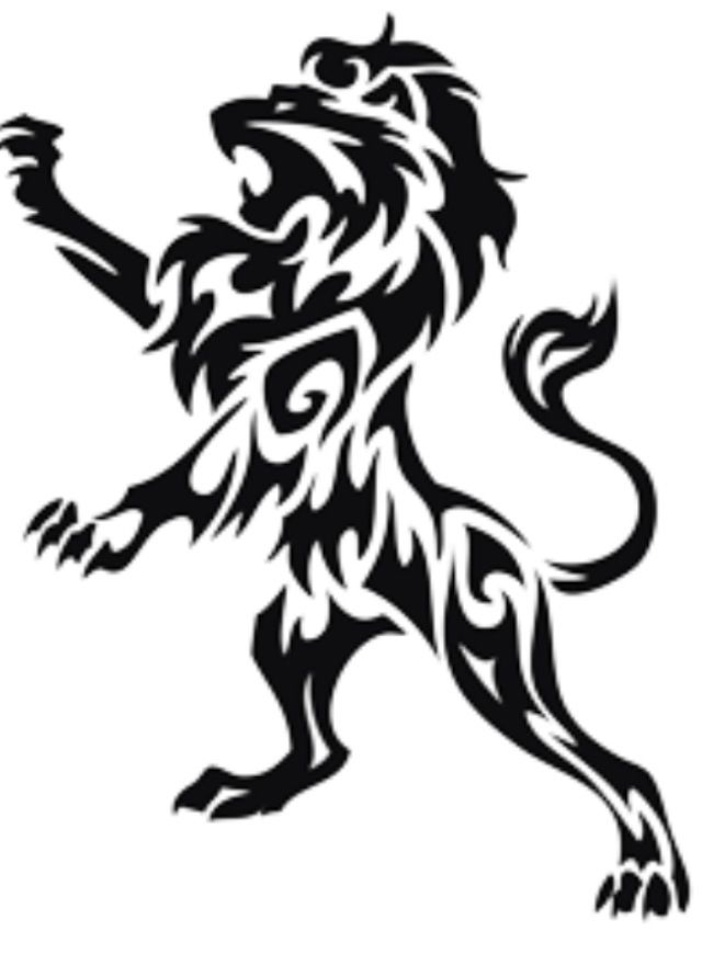 I'm going to get this on my ribs one day. White ink outlining, shaded in with black ink and then the tail and mane will have some gold! It will be awesome!