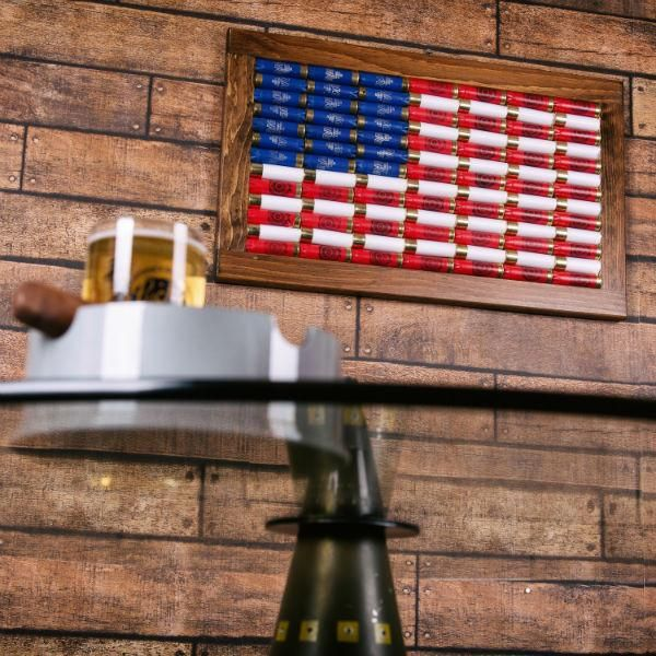 12 Gauge American Flag Wall Art