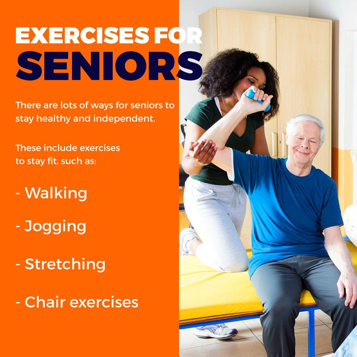 Exercises For Seniors Exercises Seniors